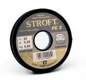 Stroft FC 2 Fluorocarbon Leader 25 m/Spool