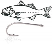 Tunca Fly hook TS10 Saltwater