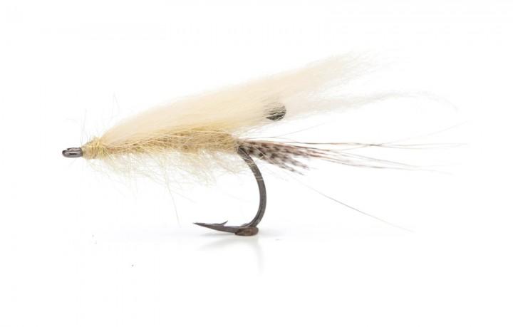 Sea Trout Fly Fiberrejen light grey