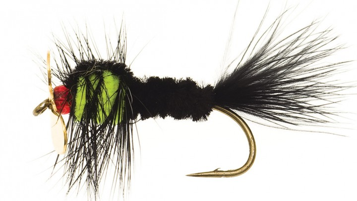 Marabou Streamer black/pink