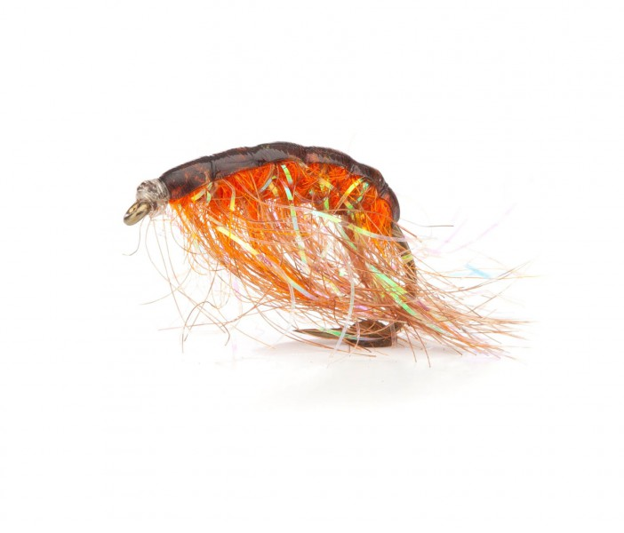 Sea Trout Fly Polarloppen fire orange