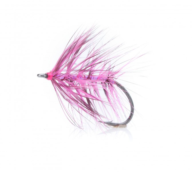 Sea Trout Fly Sveveren pink