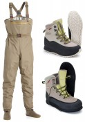 Vision Hopper Wading Set Waders and Boots (Felt or Rubber)