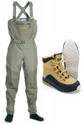 Vision Ikon/Loikka Wading-Set Waders and Boots