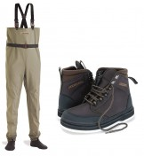 Vision Keeper Wading-Set Waders and Boots (Rubber)