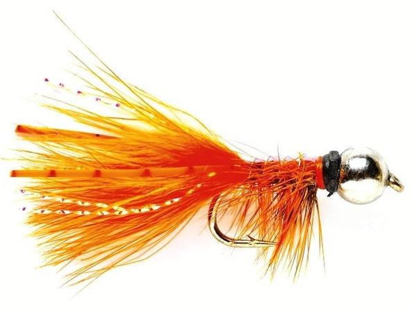 Fulling Mill JW Nymph orange