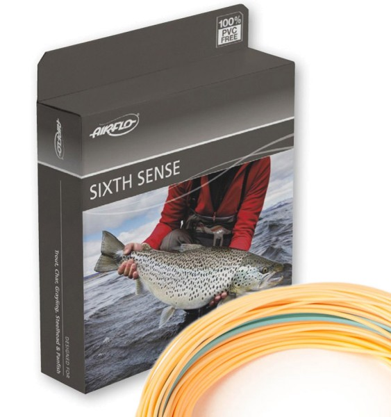 Airflo Sixth Sense Fly Line Floating Wf Weight Forward Single Handed Fly Lines Adh Fishing