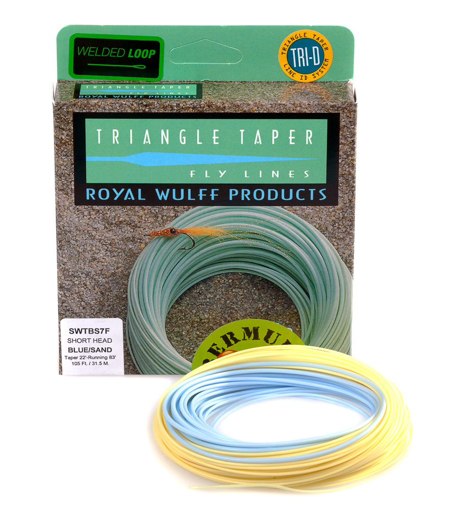 Royal Wulff Fly Line Bermuda Triangle Taper Short #14 Line GREAT NEW