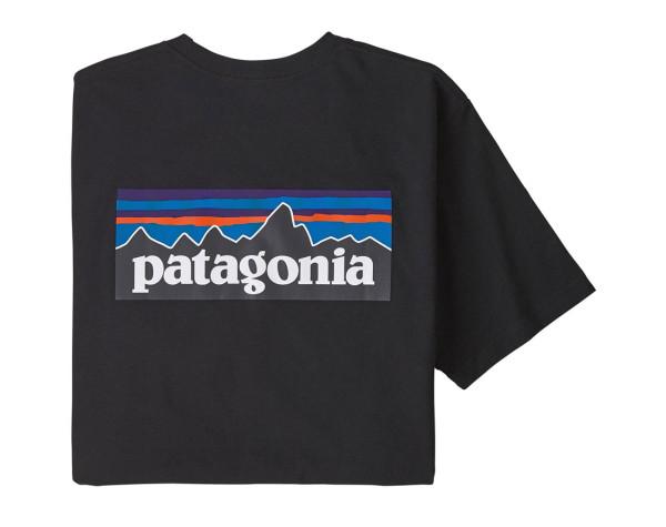 Patagonia P-6 Logo Responsibili-Tee T-Shirt BLK