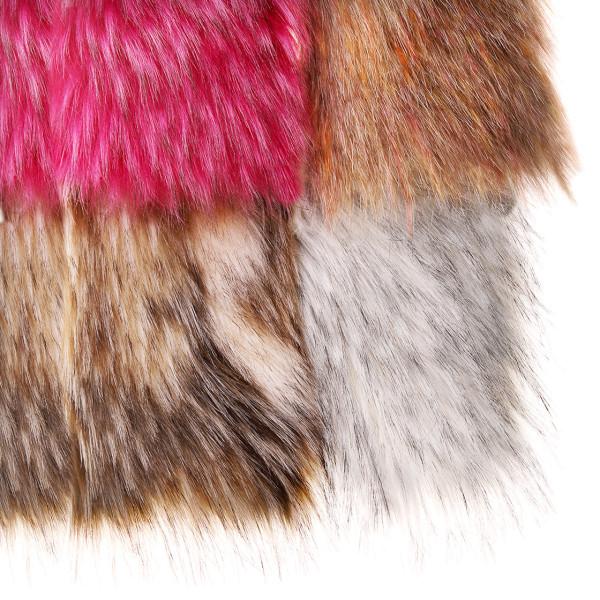 Medium Craft Fur barred sandy tan