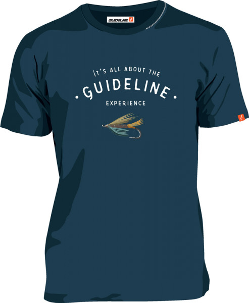 Guideline The Fly ECO Tee T-Shirt blueberry