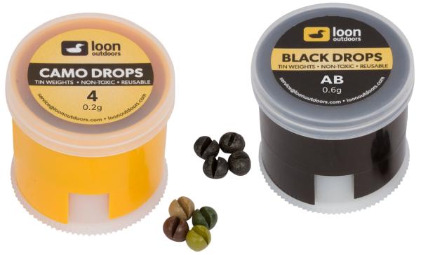 Loon Tin Drops Twist Pot - Split Shot