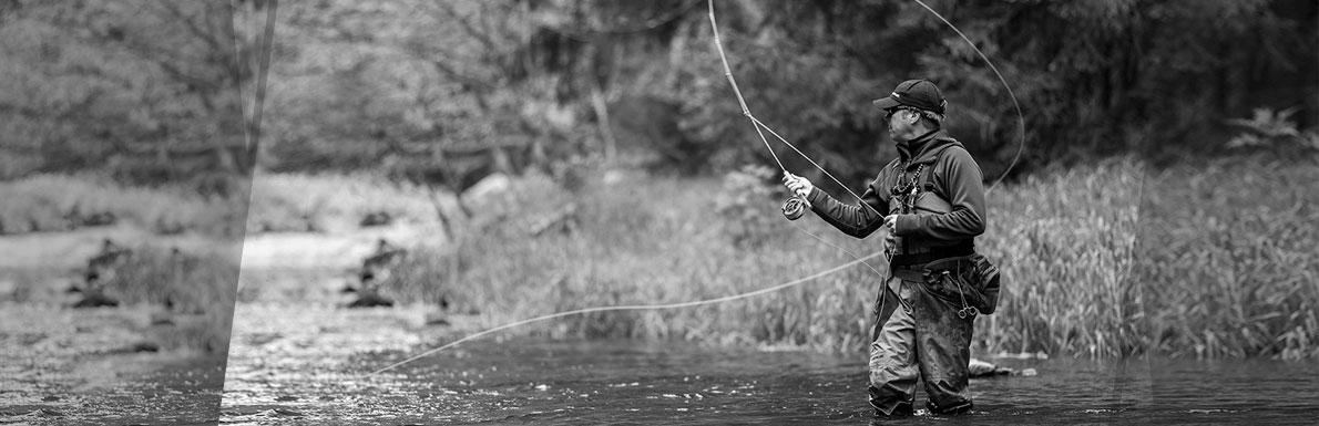Chris Rownes fishing
