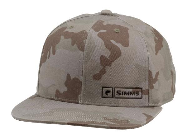 Simms Bass Logo Lockup Cap pico camo mineral
