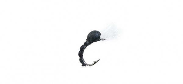 J:son Realistic Flies - Midge Pupa - 5 Black