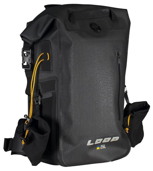 Loop Dry Backpack 25L Roll-Top black