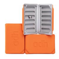 adh-fishing Foam Fly Box Medium Ultralight orange
