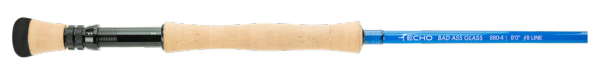 Echo BAG (Bad Ass Glass) Quickshot Single-Handed Saltwater Fly Rod