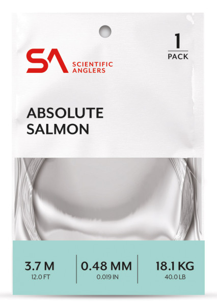 Scientific Anglers Absolute Salmon Leader 12ft.