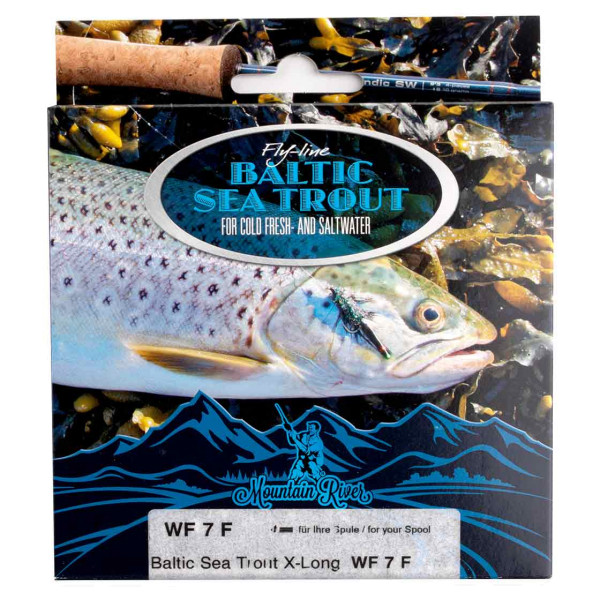 Mountain River Baltic Seatrout 2.0 X-Long Fly Line Floating