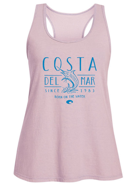 Costa Womens South Beach Tank Top lavender