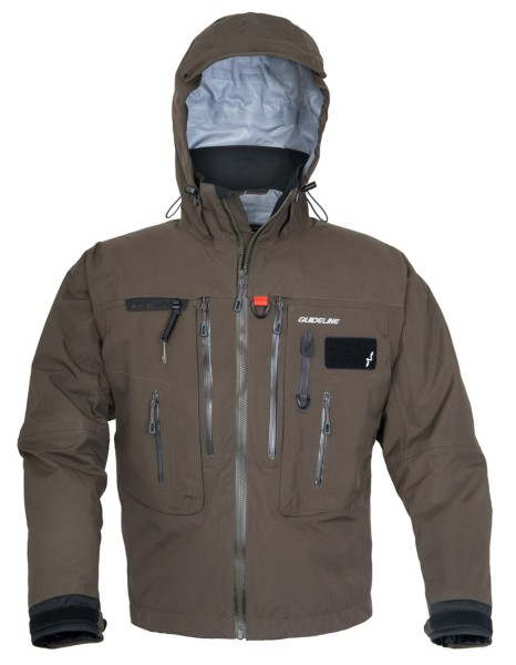 Guideline Alta Wading Jacket brown olive