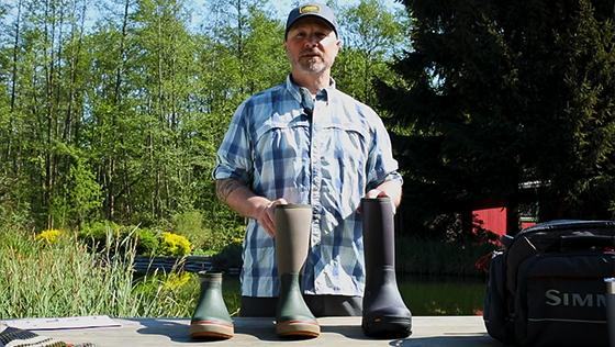 Simms Riverbank \u0026 G3 Guide Rubber Boots