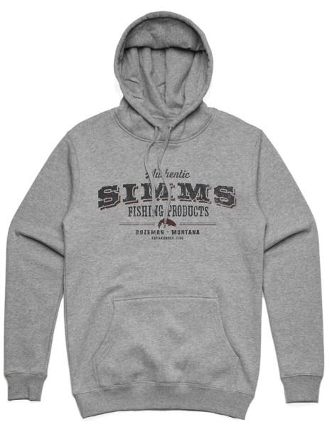 Simms Working Class Hoody grey heather