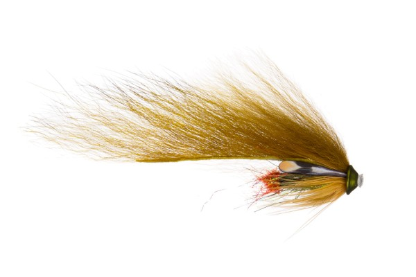 Future Fly FF Zonker Flies Tube Fly 06 olive