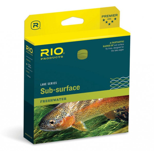 Rio Sub-Surface Camolux Intermediate Fly Line