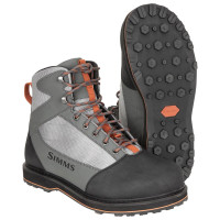 Simms Tributary Wading Boot with Rubber Sole striker grey