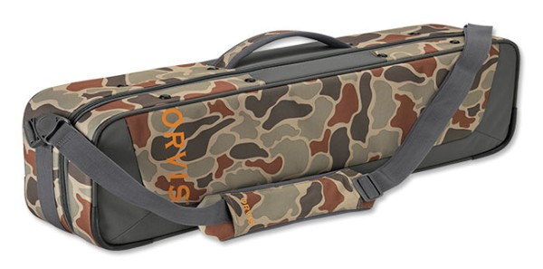Orvis Safe Passage Carry-It-All Case brown camo brown camo