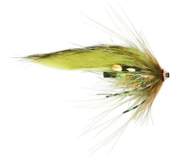 Frödin Flies Tube Fly Sea Trout Spey Series - Olive Z Spey