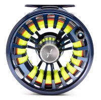 Guideline Halo DH Fly Reel dark grey sapphire blue