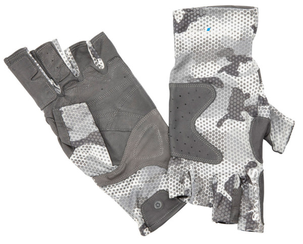 Simms Solarflex Guide Glove hex flo camo steel