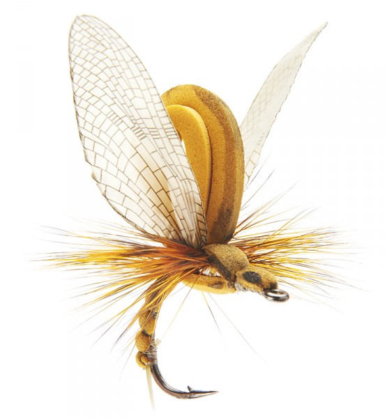 J:son Realistic Flies - Mayfly Emerger olive brown
