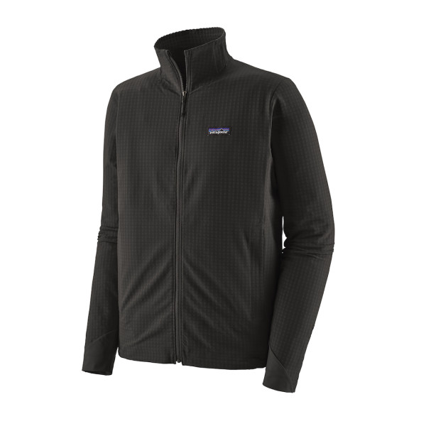 Patagonia R1 TechFace Fleece Jacket BLK Black (BLK)
