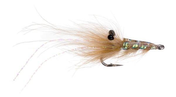 Sea Trout Fly Runars CDC Reke tan