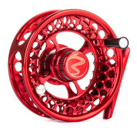 Einarsson 3+ Trout / Euronymph Fly Reel #2 to #5 red