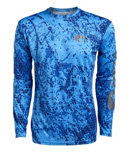 Costa Hexo Technical Longsleeve blue blue