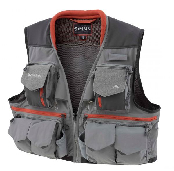 Simms Guide Vest steel