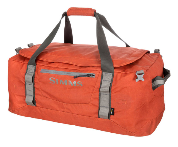 Simms GTS Gear Duffel 80L simms orange