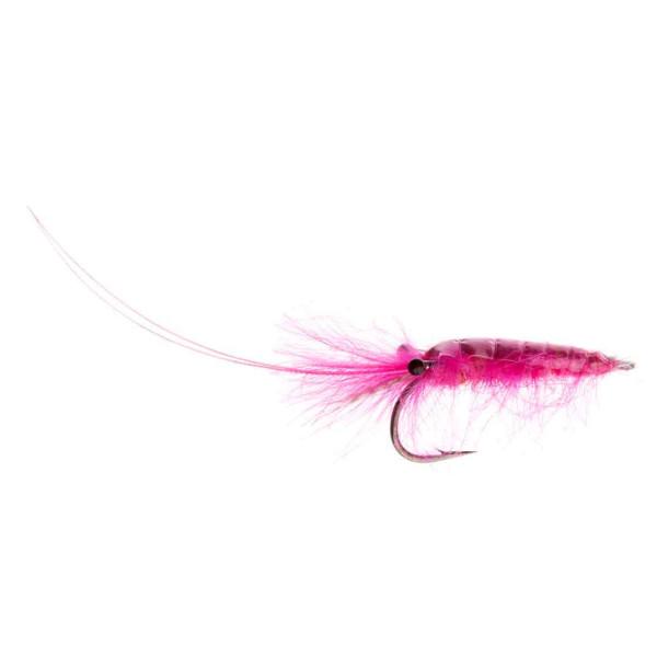 Kami Flies Sea Trout Fly - CDC Shrimp pink