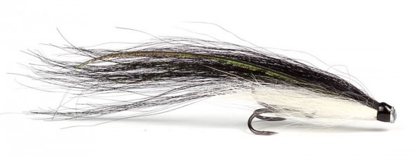 Guideline Tube Fly Traditional Series - Sunray white