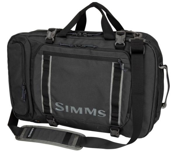 Simms GTS Tri Carry Duffel carbon
