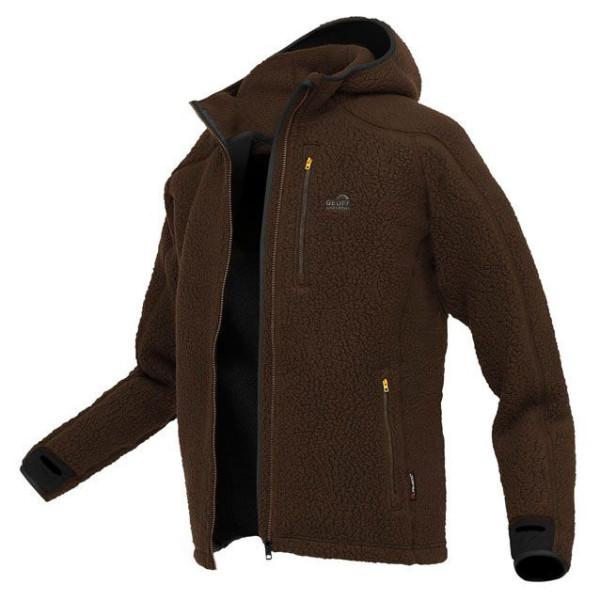 Geoff Anderson Teddy Fleece Jacket brown