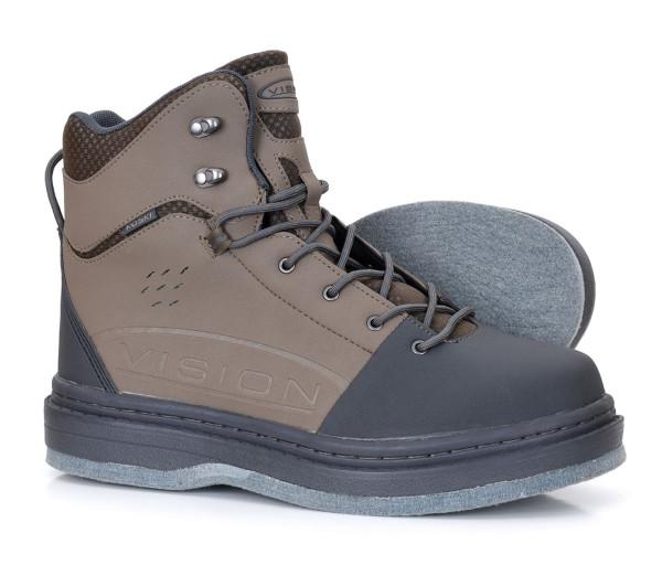 Vision Koski Wading Boot with Felt Sole