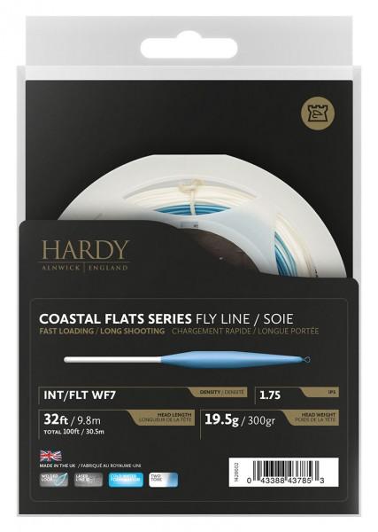 Hardy Coastal Flats Series Fly Line float / fast intermediate