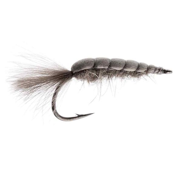 Kami Flies Sea Trout Fly - Foam Scud grey