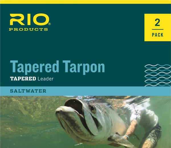 Rio Tapered Tarpon Leader 12ft 2er Pack